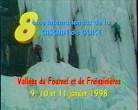 8èmes Internationaux de la Cascade de Glace