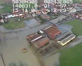 Inondations Lys et affluents, décembre 99