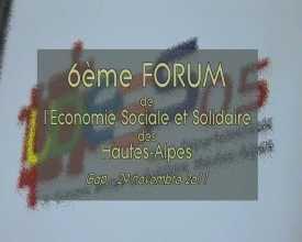 6e forum de l'économie sociale et solidaire des Hautes-Alpes