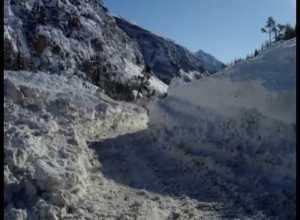 Avalanches de Fanager et du Plan, décembre 2008, Névache (05)