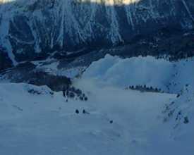 Avalanche du Plan, 21 janvier 2009, Névache (05)