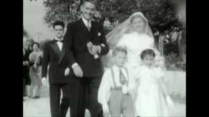 Un mariage en 1950