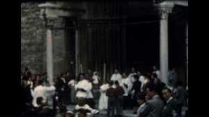 Dans les rues d'Embrun en 1961