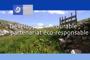 Développement durable : un partenariat éco-responsable